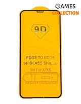 Защитное стекло для iPhone x/xs (черный)-thumb