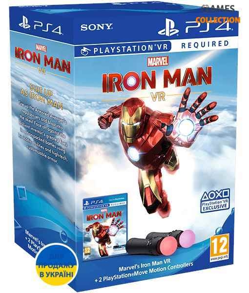 Marvel's Iron Man VR + PS Move: Twin Pack (PS4/VR)-thumb
