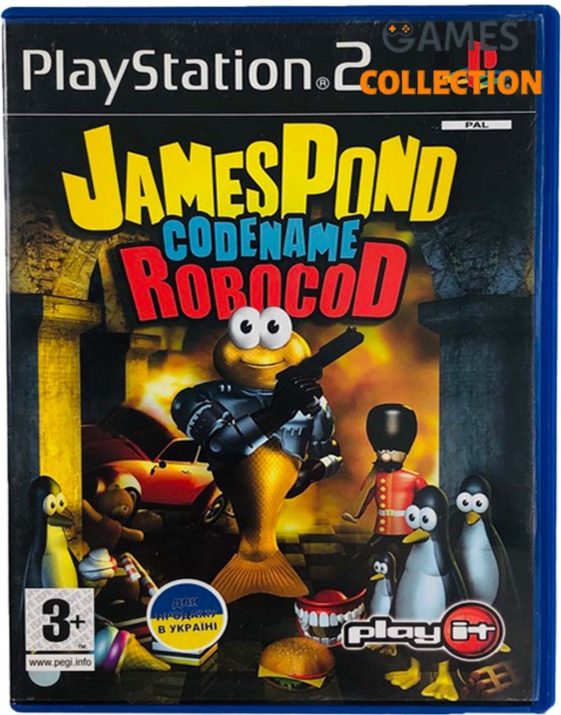 James Pond: Codename Robocod (PS2) Б/У-thumb