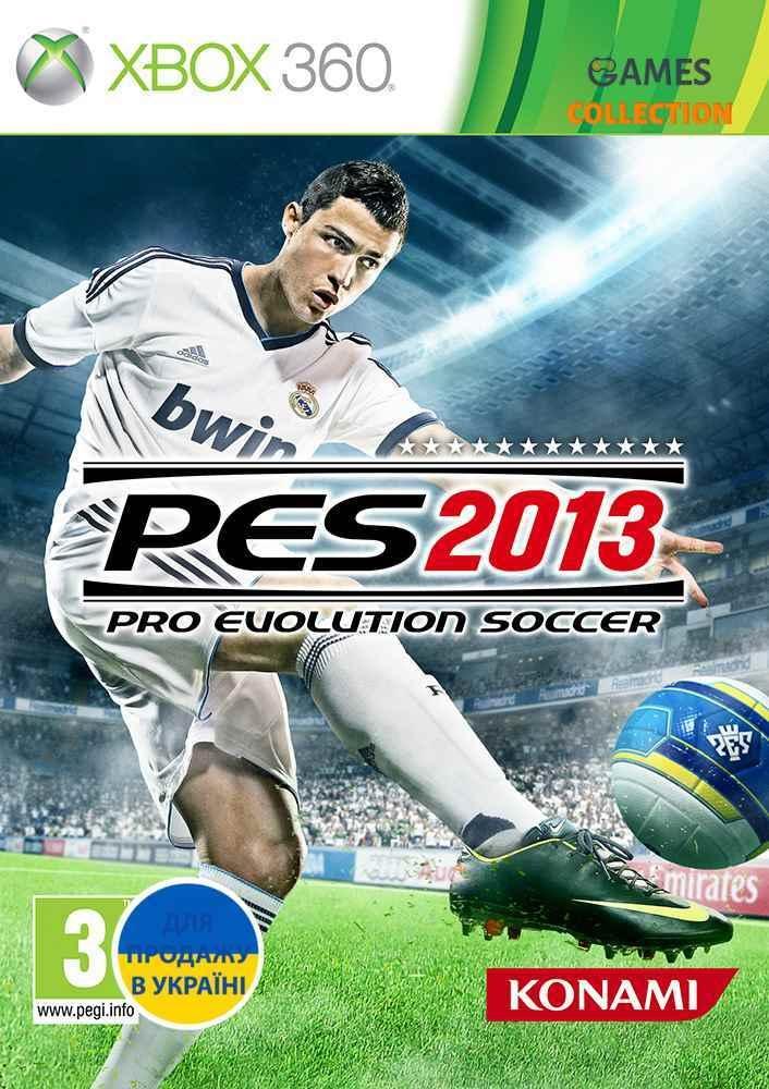Pro Evolution Soccer 2013 Лицензия (XBOX360) Б/У-thumb