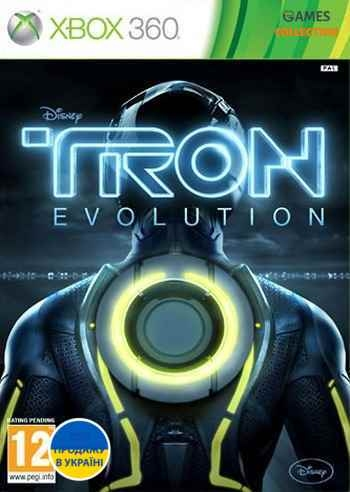 TRON Evolution: The Video Game (XBOX360)-thumb