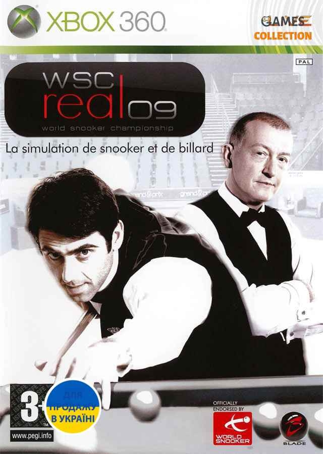 WSC Real 09: World Snooker Championship (XBOX360) Б/у-thumb