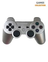 Серый беспроводной джойстик (PS3)-thumb