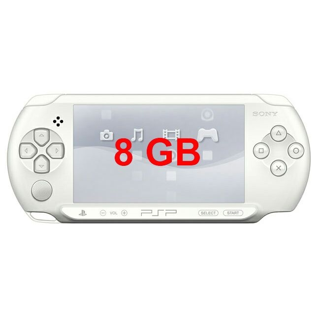 Sony PSP Street White + 8GB (гар.1 год)-thumb