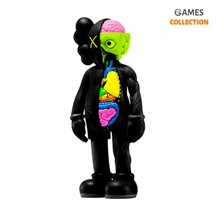 KAWS FLAYED COMPANION black (BLUSH) 28см-thumb