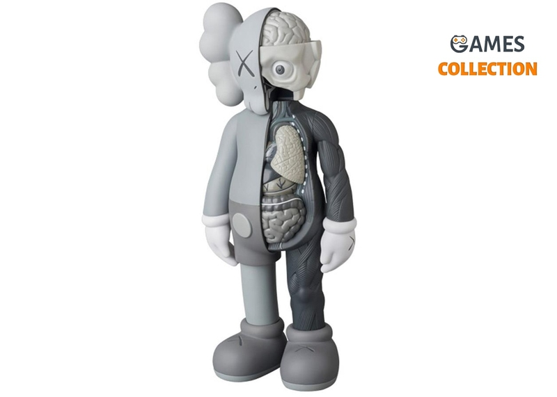 KAWS FLAYED COMPANION Grey (BLUSH) 28см-thumb
