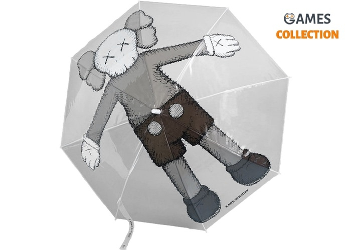 KAWS Holiday Companion Umbrella Clear-thumb