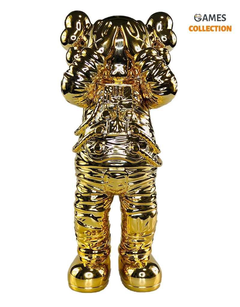 KAWS Holiday Space Figure Gold 30см-thumb