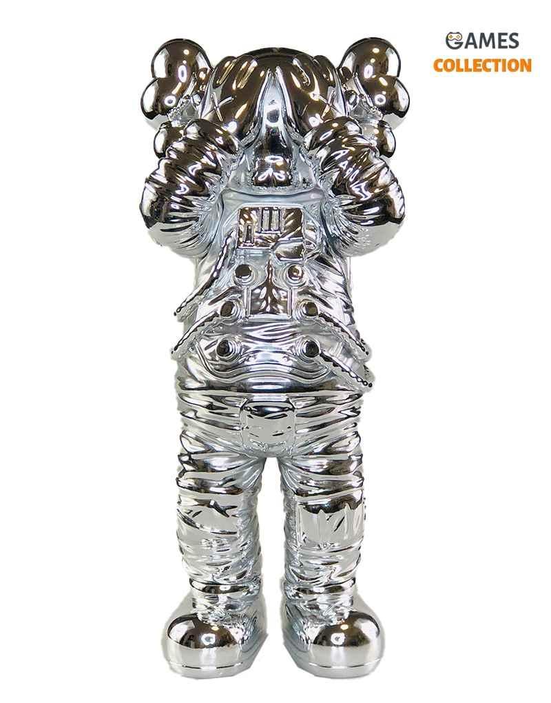 KAWS Holiday Space Figure Silver 30 см-thumb