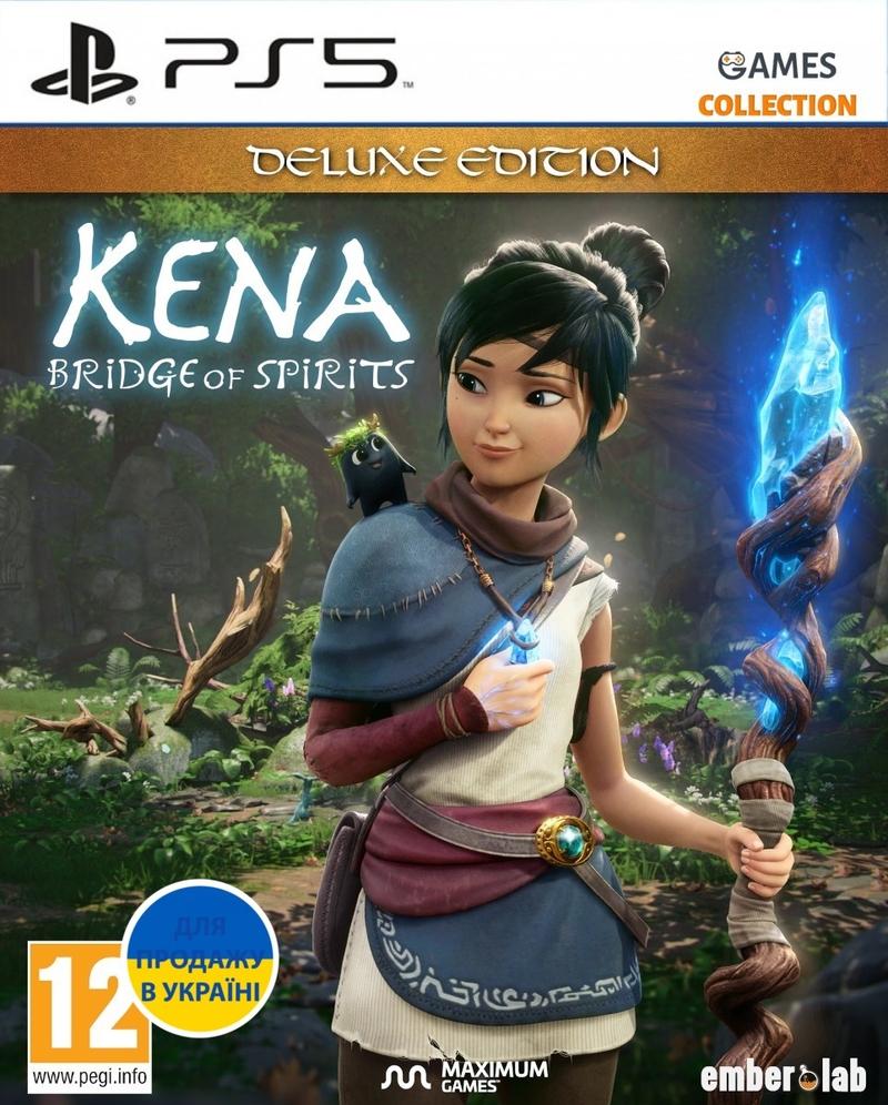 Kena Bridge Of Spirits: Deluxe Edition (PS5)-thumb