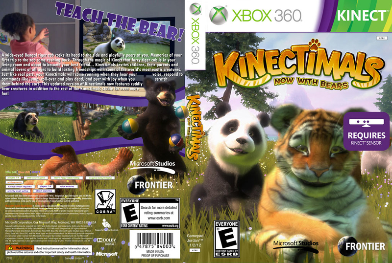 Kinectimals: Now with Bears(XBOX360)-thumb