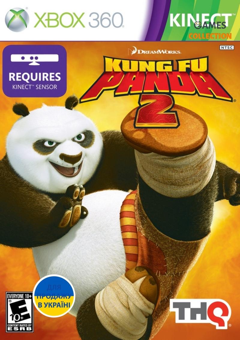 Kung Fu Panda 2 Kinect (XBOX360) Б/У-thumb