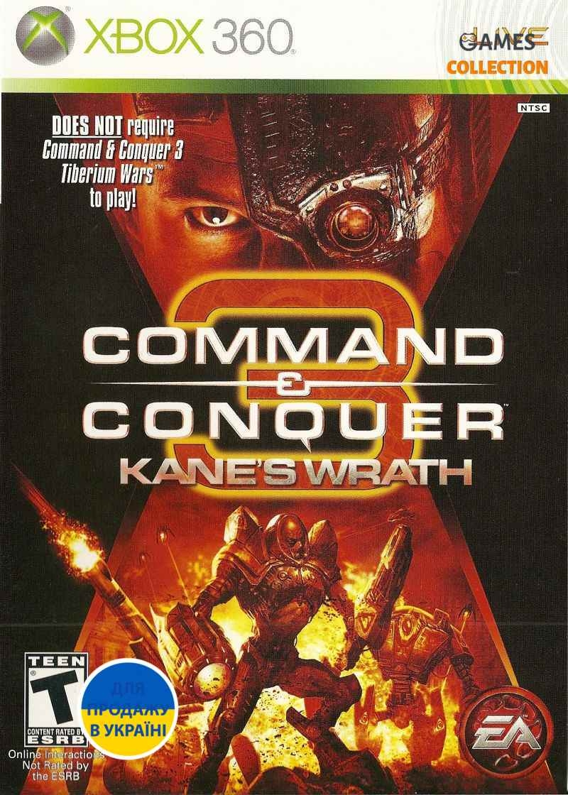 Command & Conquer 3: Kane's Wrath (XBOX360)-thumb