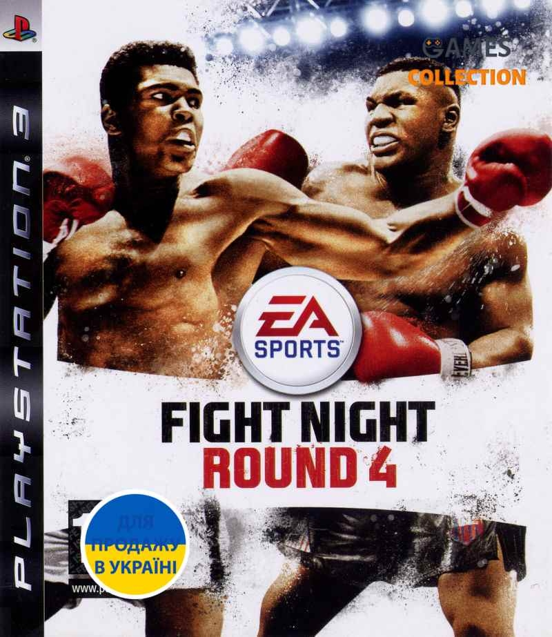 Fight Night Round 4 (PS3) Б/У-thumb