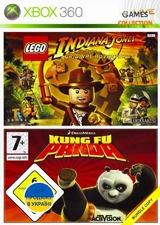 Lego Indiana Jones /Kung Fu Panda (XBox360) Б/У-thumb