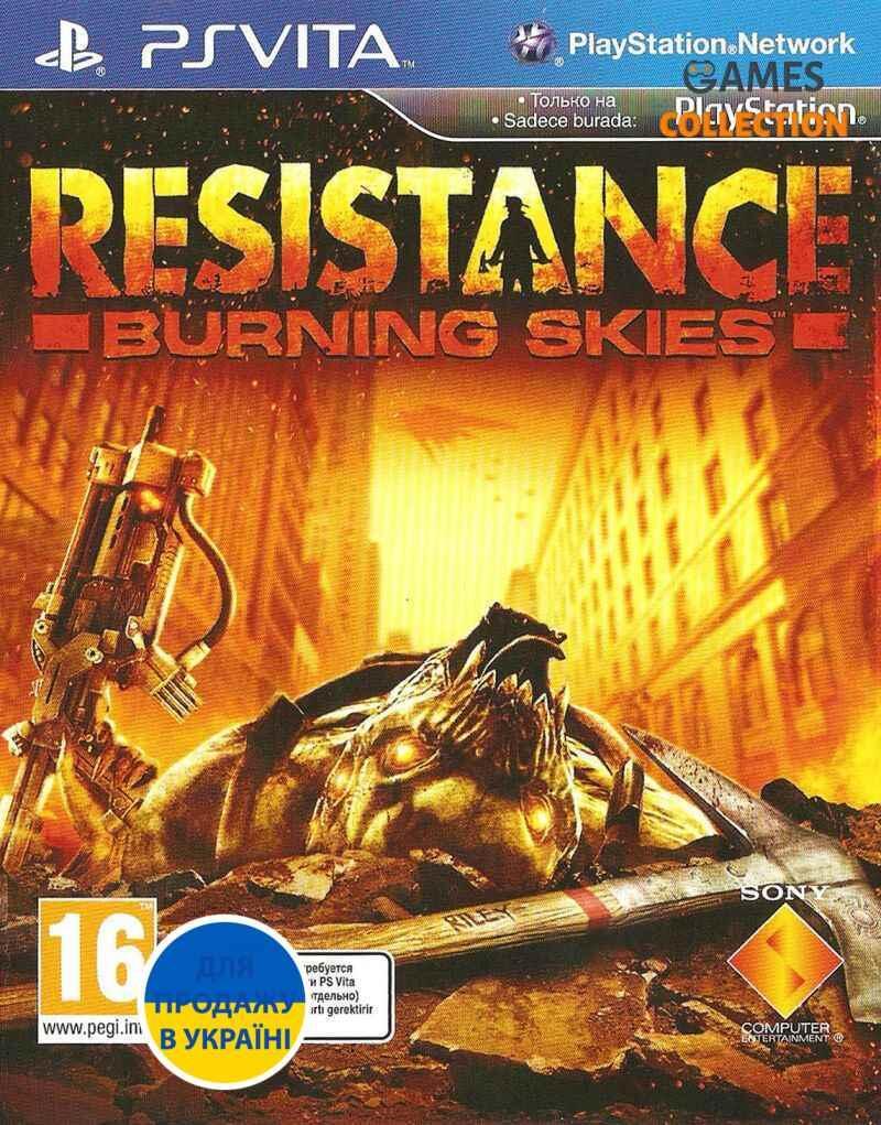 Resistance: Burning Skies  (PS Vita)-thumb