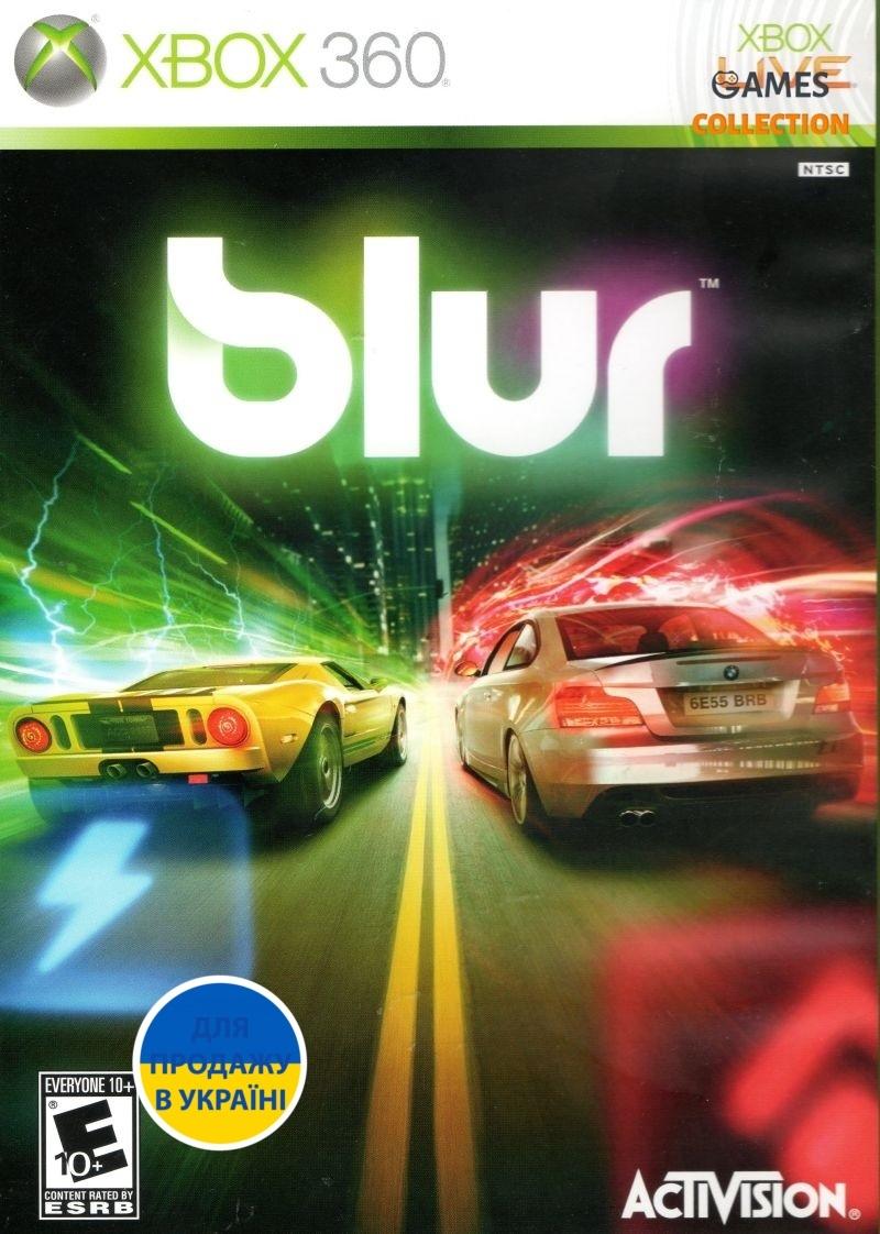 Blur (XBOX360) Б/У-thumb
