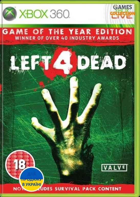 Left 4 Dead: Game of The Year Edition (XBOX360)-thumb