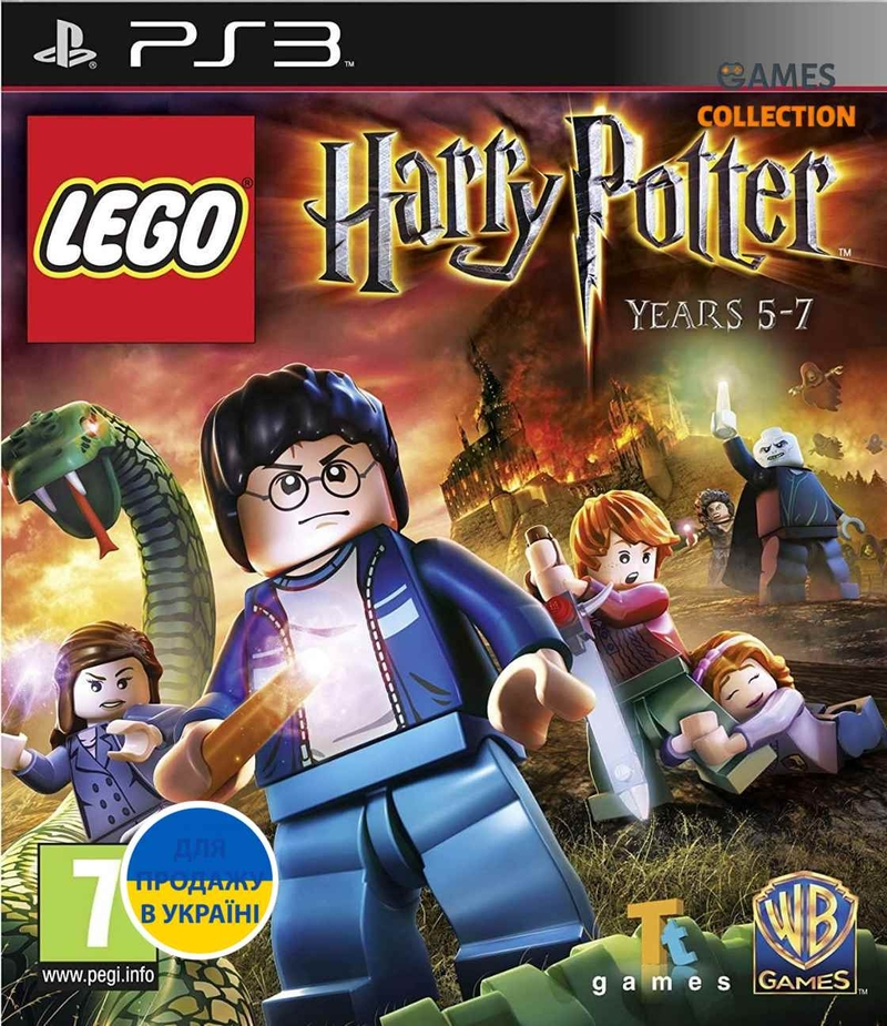 LEGO Harry Potter: Years 5–7 (PS3)-thumb