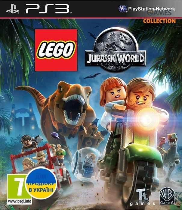 LEGO: Jurassic World (PS3)-thumb