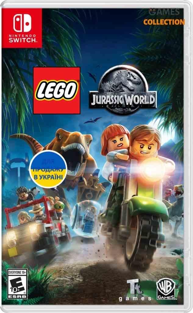 Lego Jurassic World (Switch)-thumb