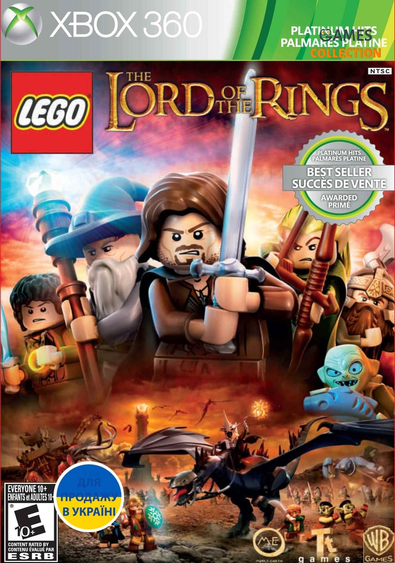 LEGO The Lord Of The Rings (Xbox 360) Б/У-thumb