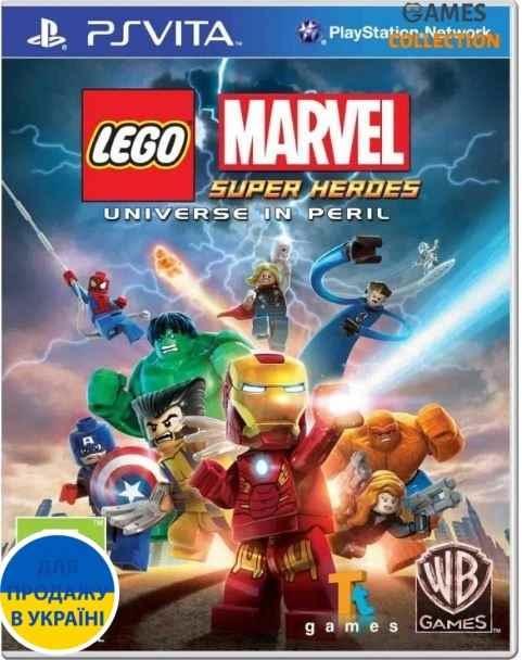 LEGO Marvel Super Heroes (PS Vita)-thumb