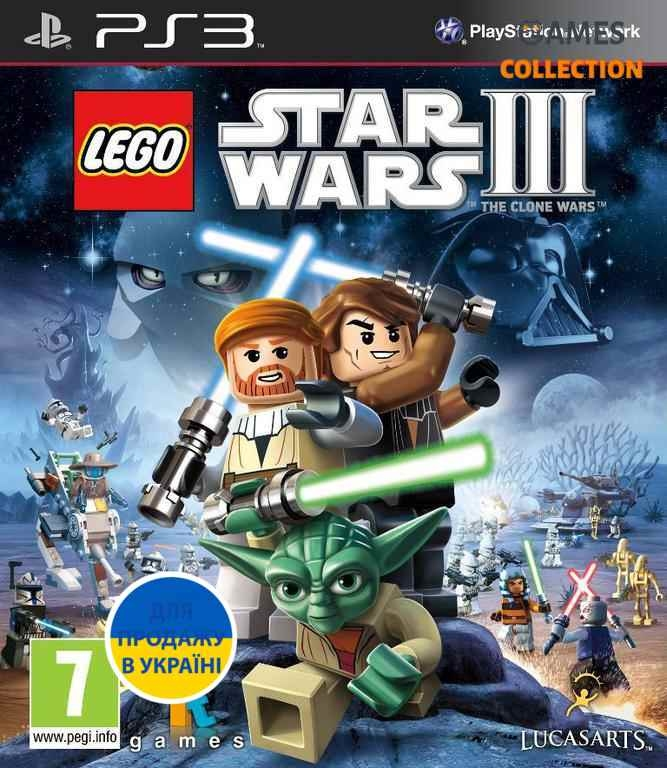 LEGO Star Wars III: The Clone Wars (PS3)-thumb