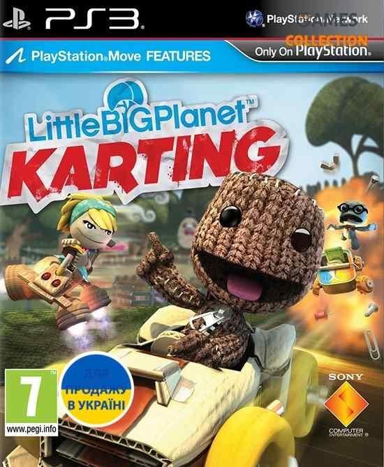LittleBigPlanet Karting (PS3) (Русская версия)-thumb