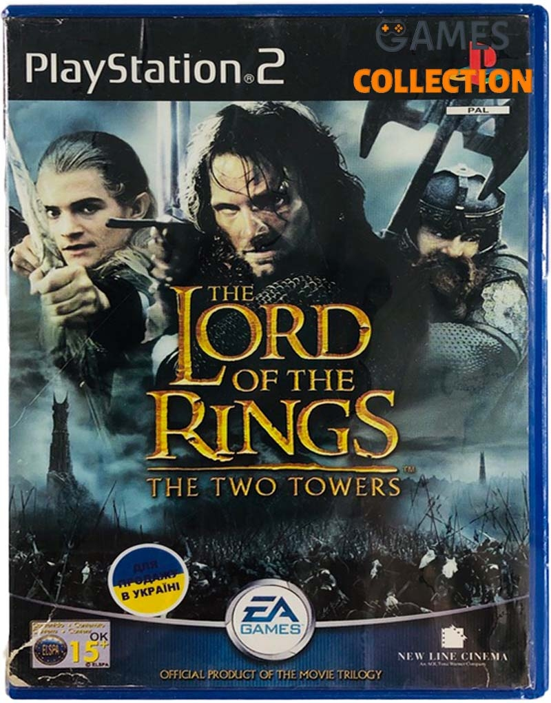Lord of the Rings: Two Towers (PS2) Б/У-thumb