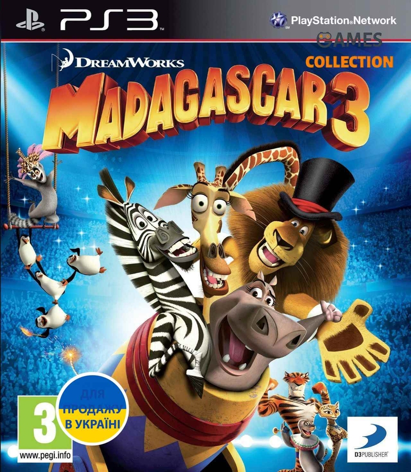 Madagascar 3: The Video Game (PS3)-thumb