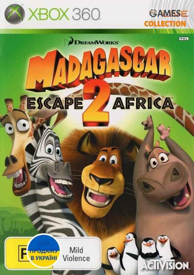 Madagascar: Escape 2 Africa (Xbox 360)-thumb