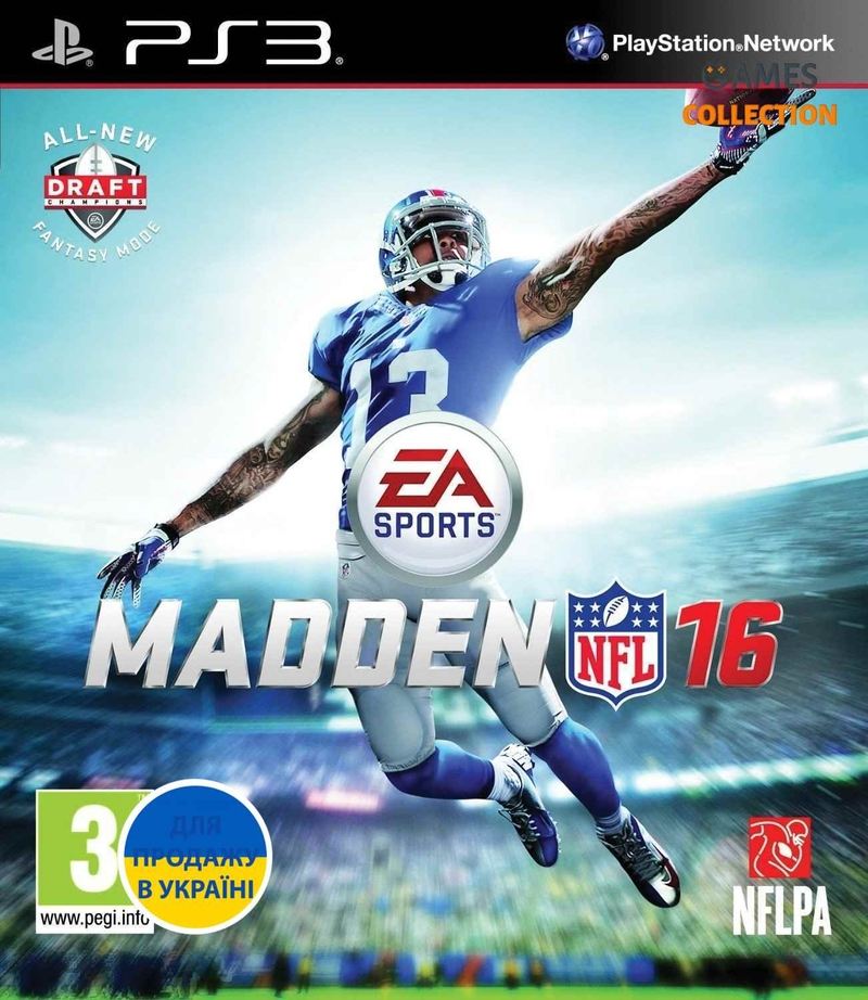 Madden NFL 16 (PS3) Б/У-thumb