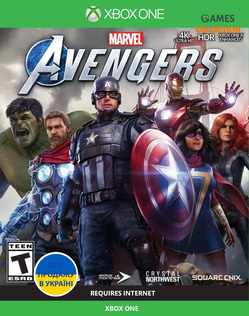 Marvel's Avengers (XBox One)-thumb