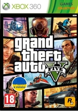 GTA 5 Grand The Auto V Новый (XBOX360)-thumb