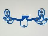 Контактный шлейф джойстика Dualshok 4 PS4 синий-thumb