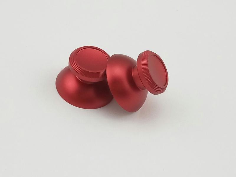 Стики алюминиевые PS4 / Xbox one (Red)-thumb