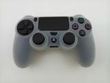 Силиконовый чехол для джойстика PS4 Dualshock 4 (White)-thumb