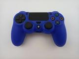 Силиконовый чехол для джойстика PS4 Dualshock 4 (Blue)-thumb