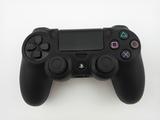 Силиконовый чехол для джойстика PS4 Dualshock 4 (Black)-thumb