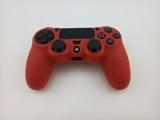 Силиконовый чехол для джойстика PS4 Dualshock 4 (Red)-thumb