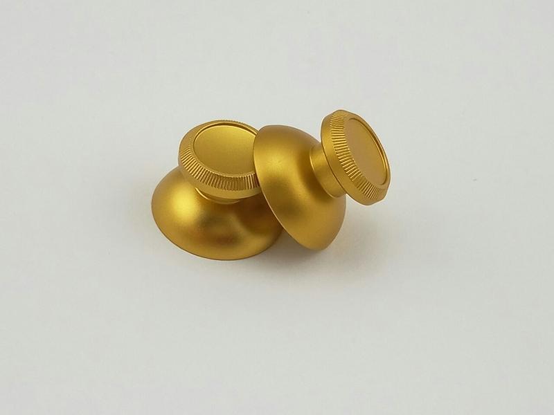 Стики алюминиевые PS4 / Xbox one (gold)-thumb