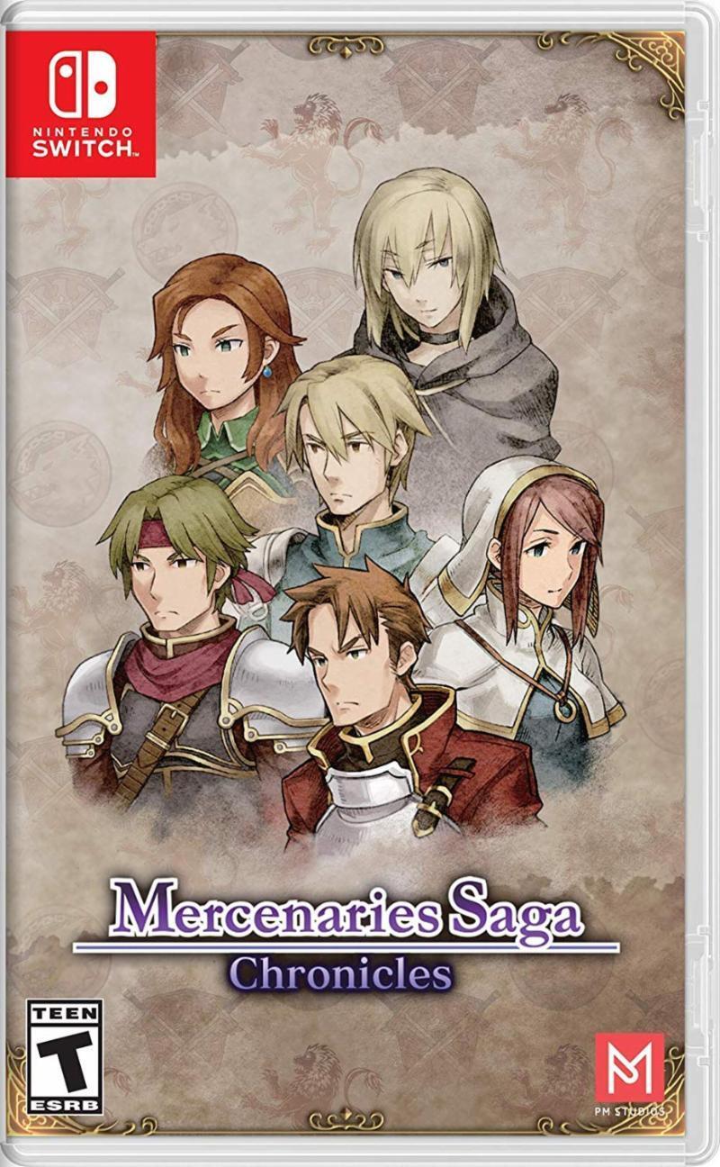 Mercenaries Saga Chronicles (Switch)-thumb