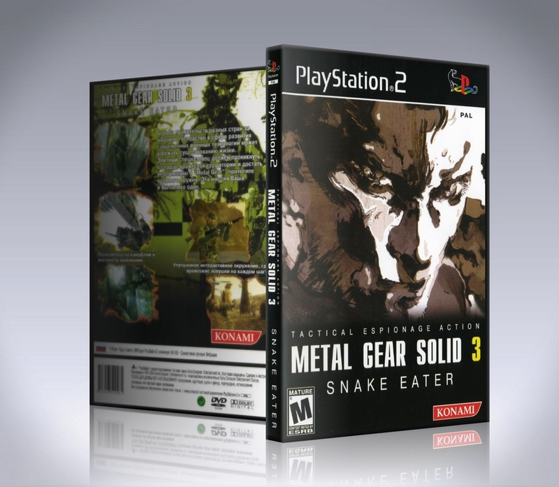 Metal Gear Solid 3 Snake Eater (ps2)-thumb