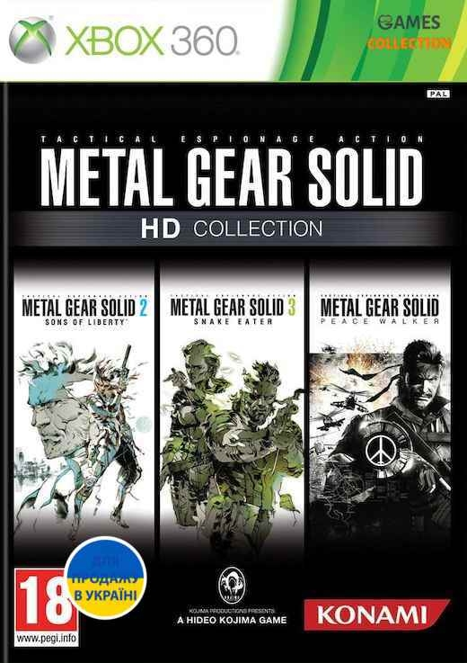 Metal Gear Solid HD Collection (XBOX360)-thumb