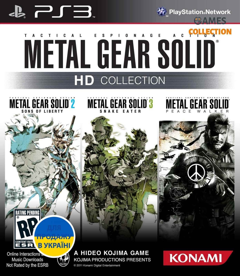 Metal Gear Solid HD Collection (PS3)-thumb