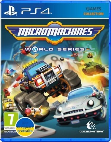 Micro Machines: World Series (PS4)-thumb