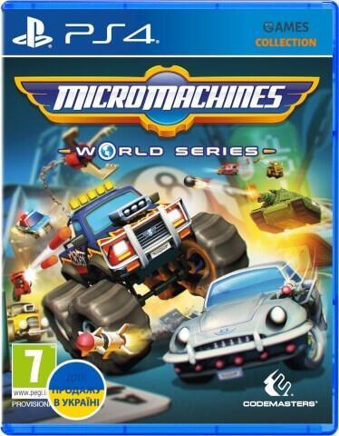 Micro Machines World Series (PS4)-thumb
