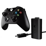 Controller Wireless with Play & Charge Kit Black (Xbox One)-thumb