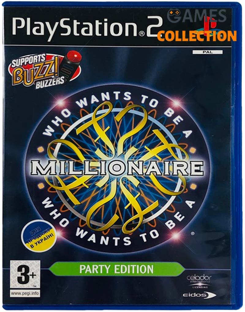 Who Wants to Be a Millionaire Party Edition (PS2) Б/У-thumb
